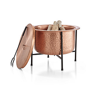 Vitale Solid Copper Firepit