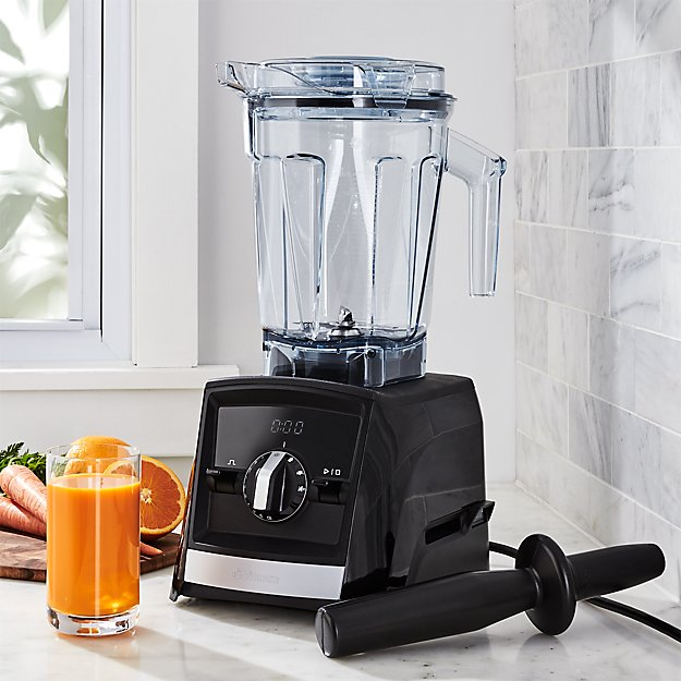 Vitamix ascent a2500 black blender crate and barrel for Kitchen perfected blender