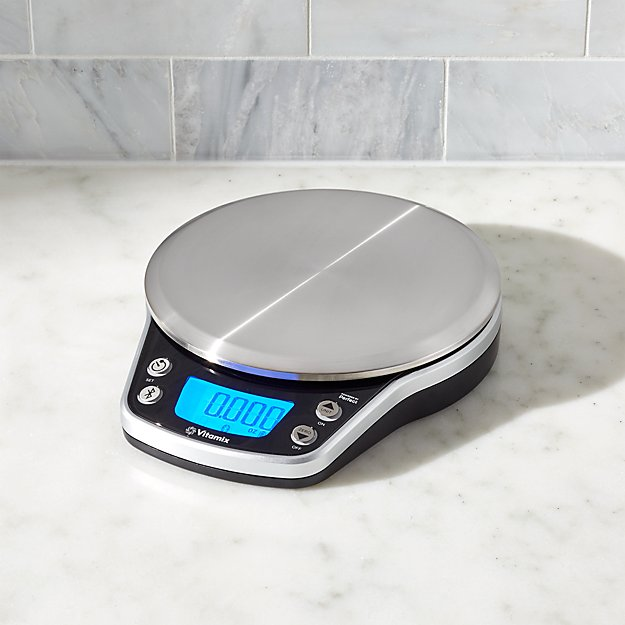 vitamix perfect blend smart scale crate and barrel