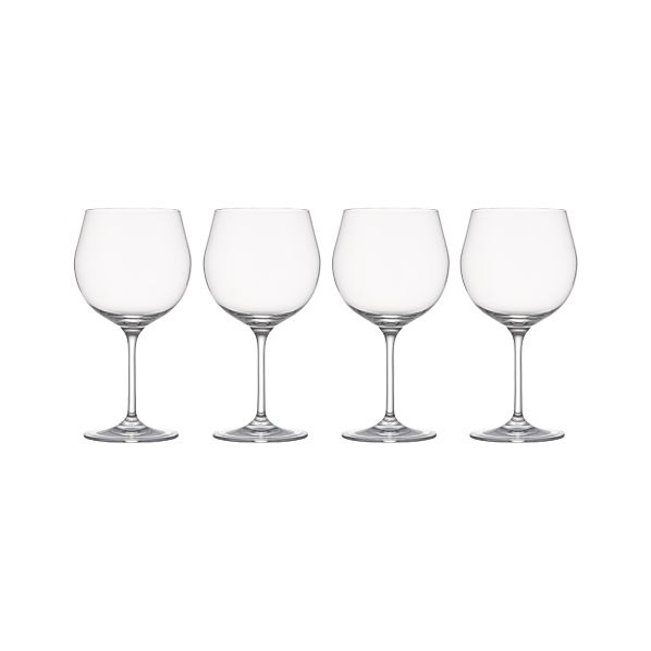 Set of 4 Viv Red Wine Glasses