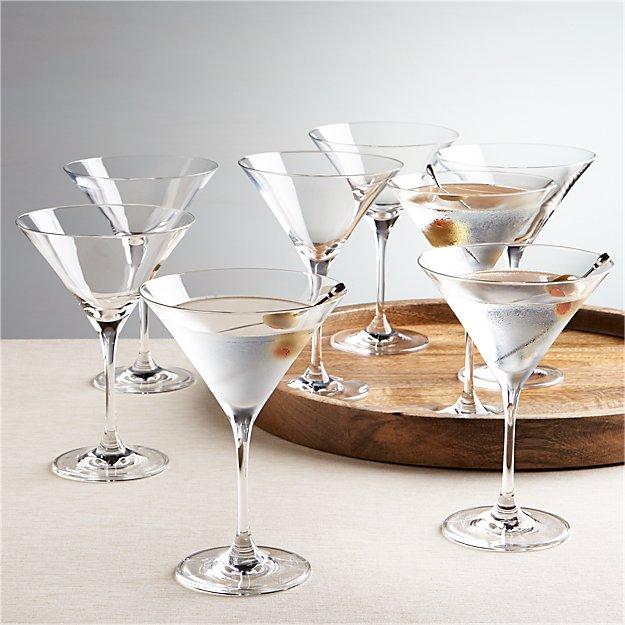 Viv Martini Glasses, Set of 8