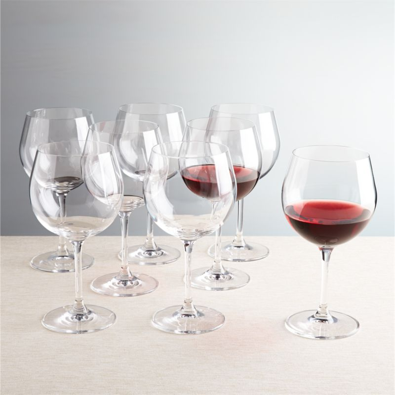 Viv Red Wine Glasses, Set Of 8 + Reviews