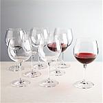 Viv Red Wine Glasses, Set of 8