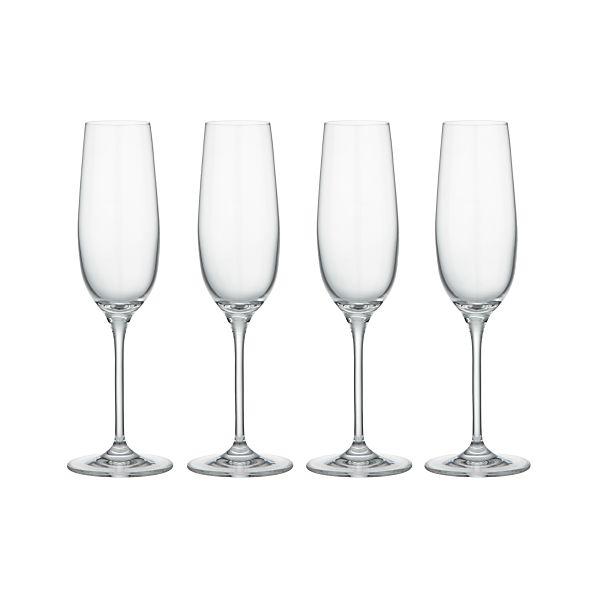 Set of 4 Viv Sparkling Wine