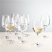 Viv White Wine Glasses, Set of 8