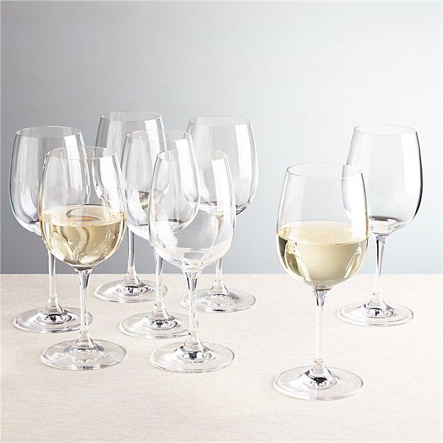 Viv White Wine Glasses, Set of 8 - Image 1 of 12