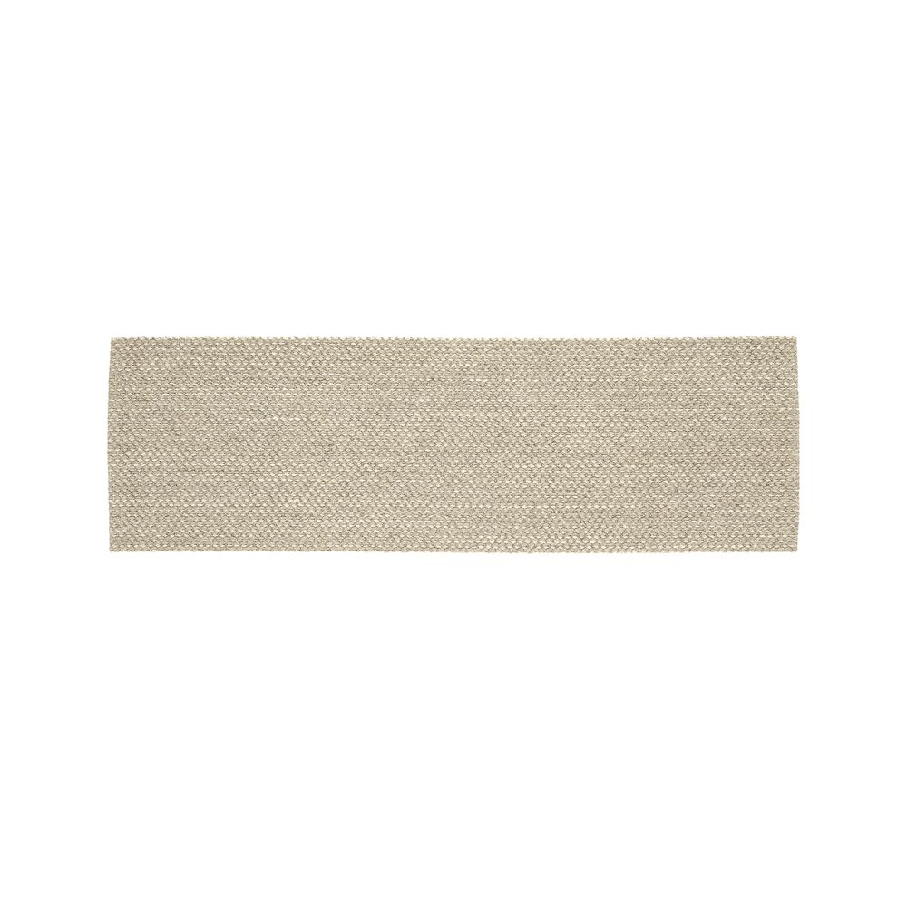 Voight Wool-Blend 2.5'x8' Rug Runner - Crate and Barrel