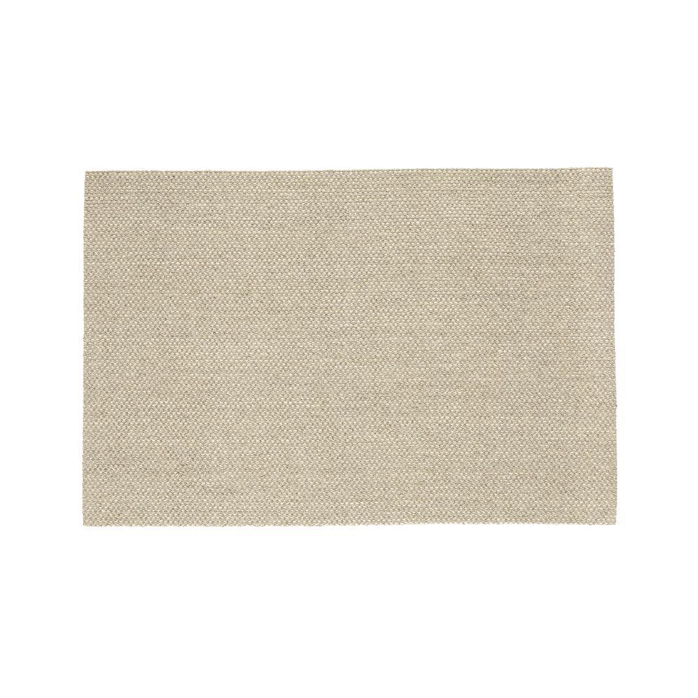 Voight Wool-Blend 4'x6' Rug - Crate and Barrel