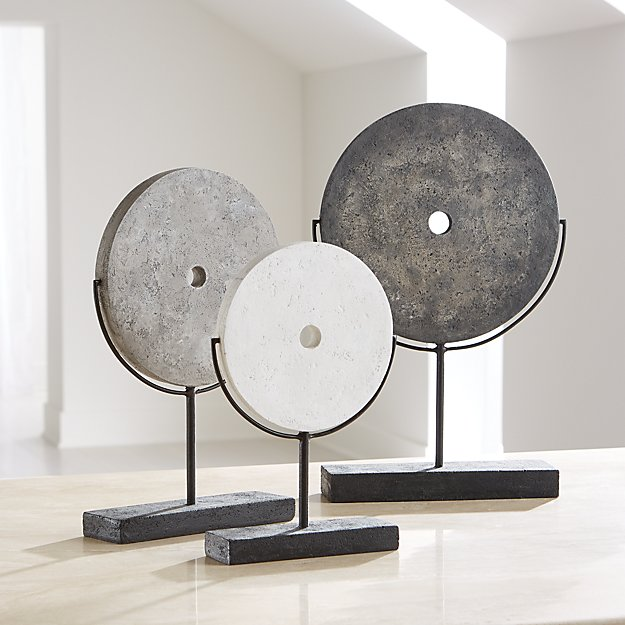 Volcanic Ash Disc Sculptures - Image 1 of 8