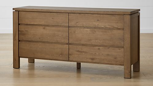 Walker Fog 6-Drawer Dresser