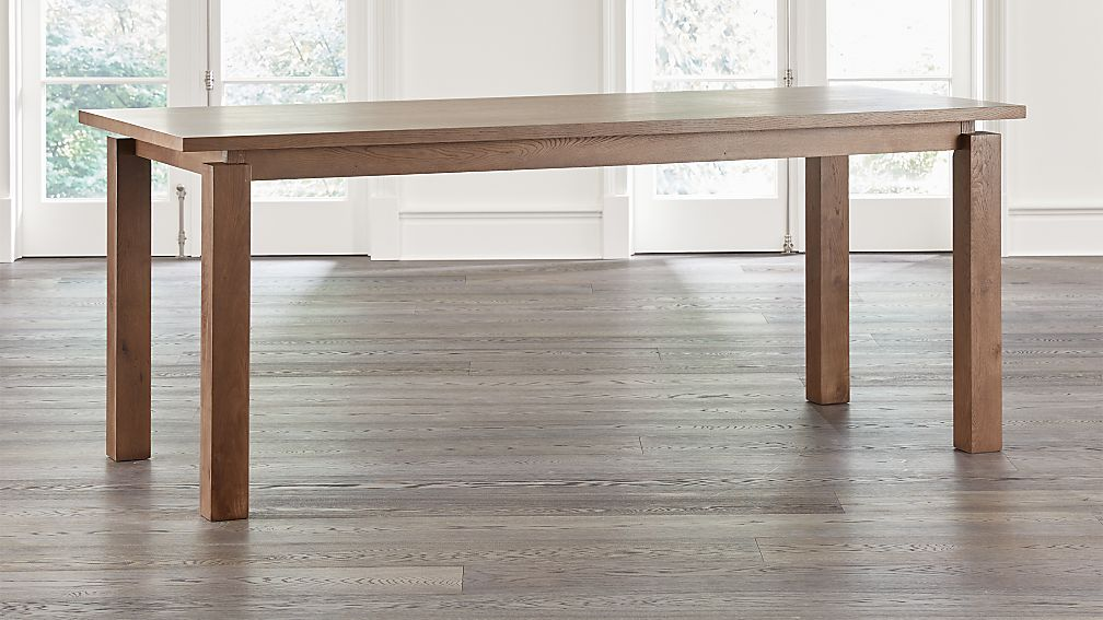 "Walker Fog 92"" Counter Height Dining Table - Image 1 of 12"