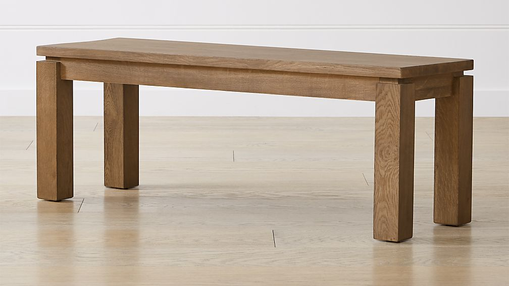 "Walker Fog 48"" Dining Bench - Image 1 of 6"