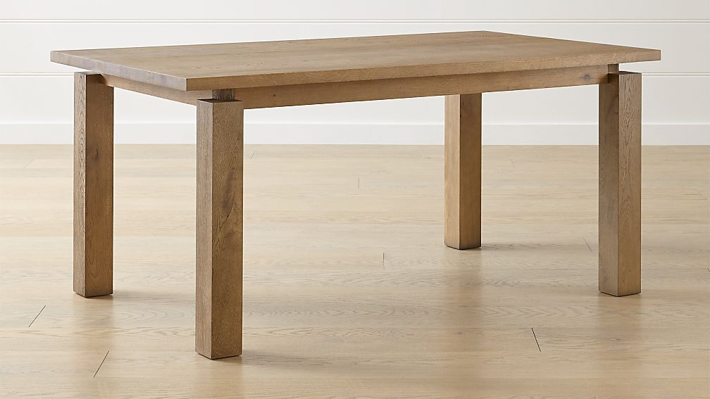 Walker Fog Dining Tables Crate And Barrel