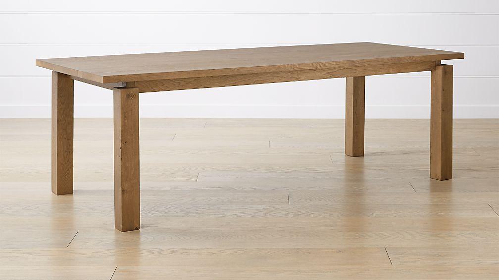 "Walker Fog 92"" Dining Table - Image 1 of 12"