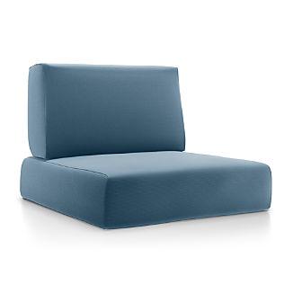 Walker Sapphire Sunbrella ® Lounge Chair Cushions