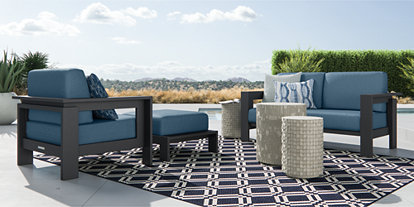 Tremendous Outdoor Patio Lounge Furniture Crate And Barrel Cjindustries Chair Design For Home Cjindustriesco