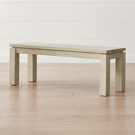 Outstanding Walker Natural 48 Dining Bench Crate And Barrel Canada Ncnpc Chair Design For Home Ncnpcorg