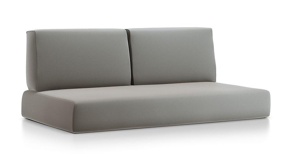 Walker Graphite Sunbrella ® Sofa Cushions - Image 1 of 2