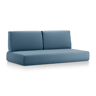 Walker Sapphire Sunbrella ® Sofa Cushions
