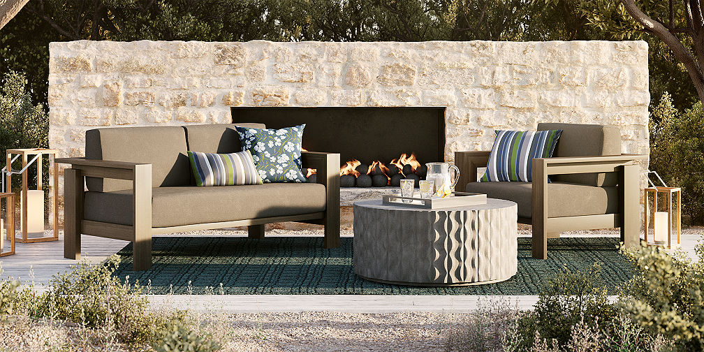Outdoor Furniture Sets Lounge Amp Dining Crate And Barrel