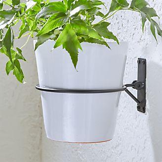 outdoor planters pots and garden tools crate and barrel. Black Bedroom Furniture Sets. Home Design Ideas