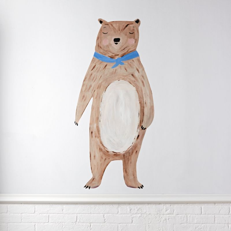 Bear Decal by Crate&Barrel