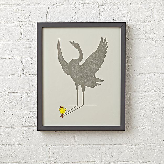 Duck wall art reviews crate and barrel