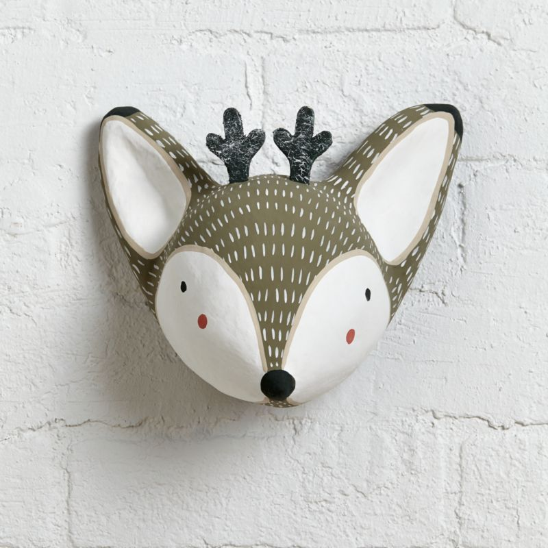 Forest Pop Wall Decor Deer Crate And Barrel