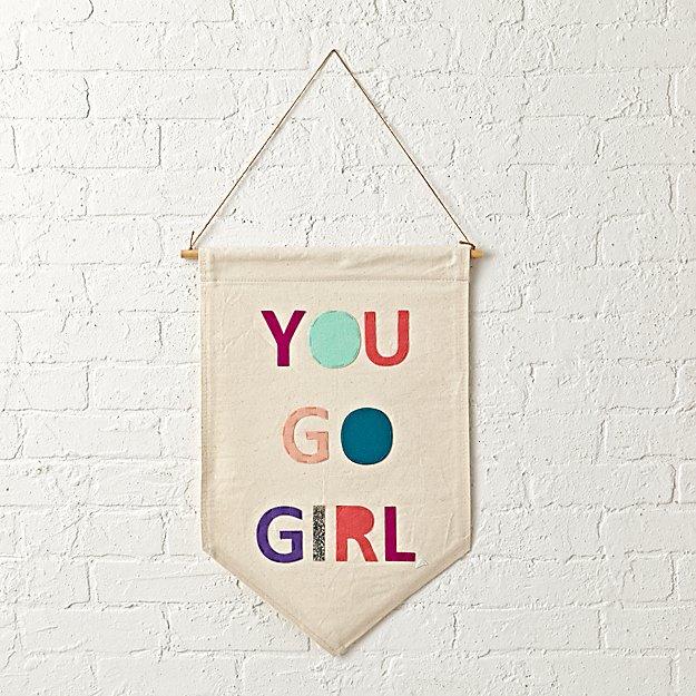 Children S Party Box Wall Art For Girl S Bedroom: Girl Power Banner + Reviews