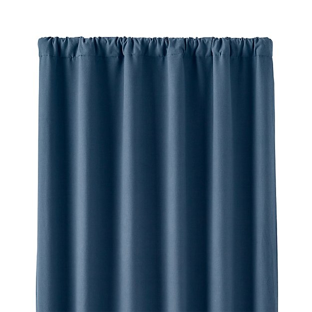 "Wallace Blue 52""x84"" Blackout Curtain Panel"