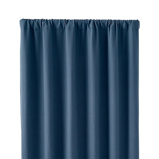"Wallace Blue 52""x96"" Curtain Panel"