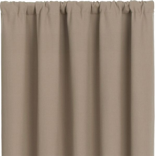 Wallace Brindle 52x84 Curtain Panel
