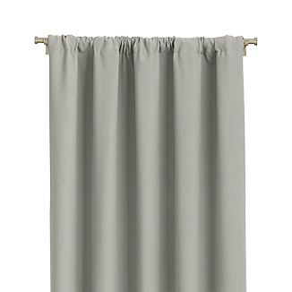 "Wallace 52""x120"" Grey Curtain Panel"