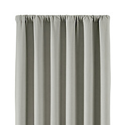 Wallace White Blackout Curtains Crate And Barrel - White blackout curtains