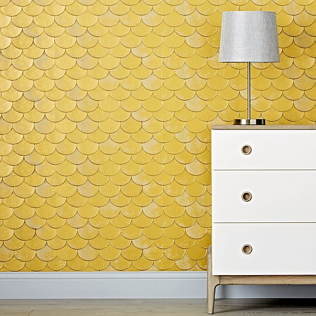 genevieve gorder wallpaper  Genevieve Gorder Brass Belly Removable Wallpaper   Reviews | Crate ...
