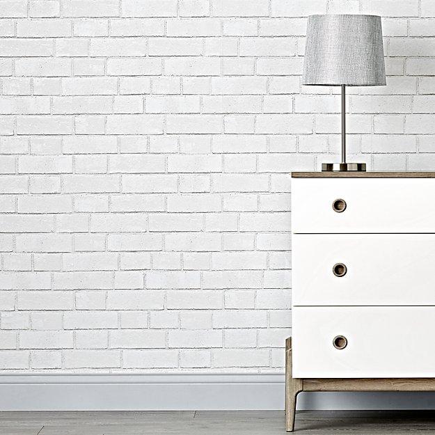 Brick White Removable Wallpaper Reviews