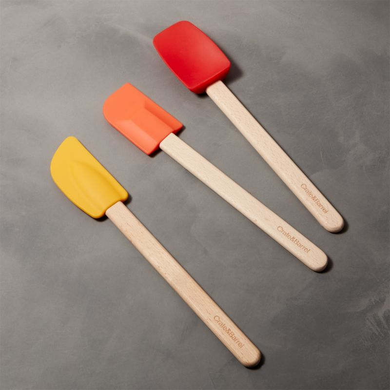 Warm Spatulas, Set of 3