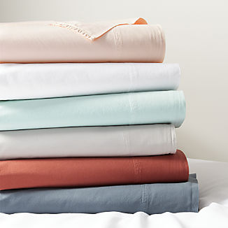 Washed Organic Cotton Sheet Sets