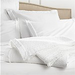 Washed Organic Full/Queen Coverlet