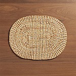 Oval Water Hyacinth Placemat