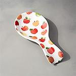 Watercolor Apple Spoon Rest