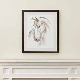 Watercolor Equine Print