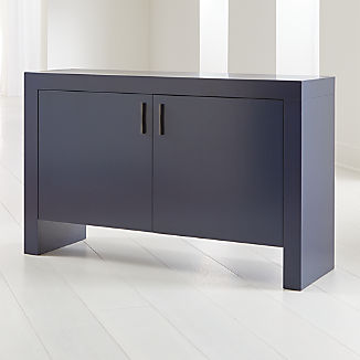 Waterfall Indigo Storage Cabinet