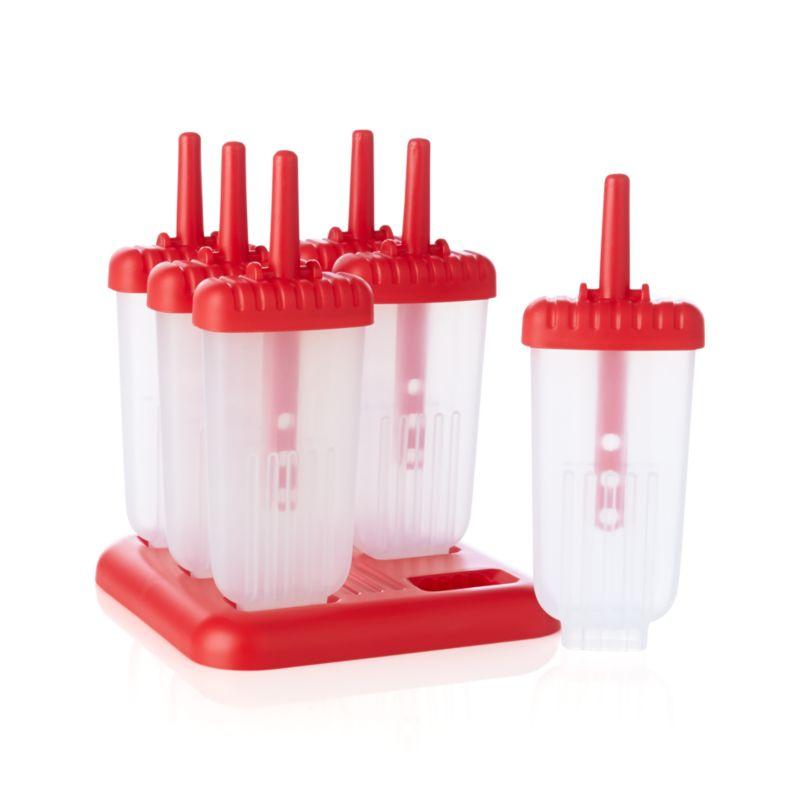 Set of 6 Ice Pop Molds