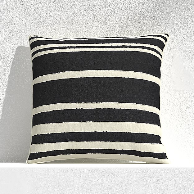 Mohave Wide Stripe Outdoor Pillow - Image 1 of 3