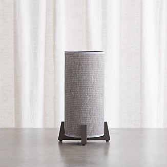 Weave Greige Table Lamp