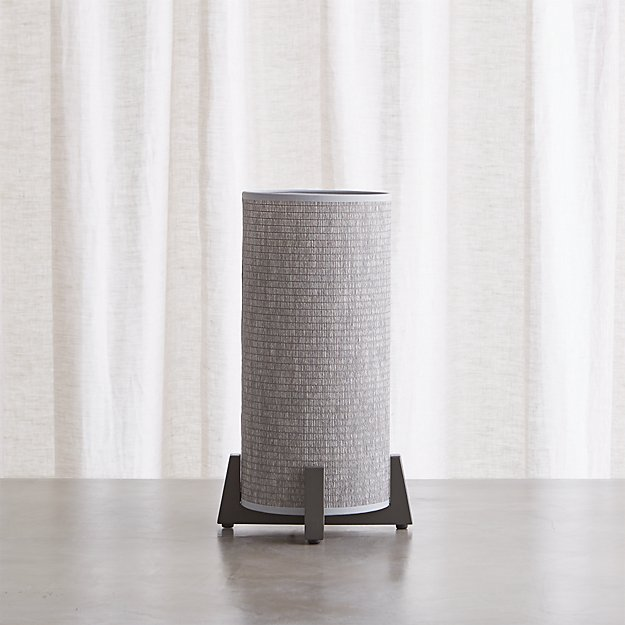 Weave Greige Table Lamp - Image 1 of 5
