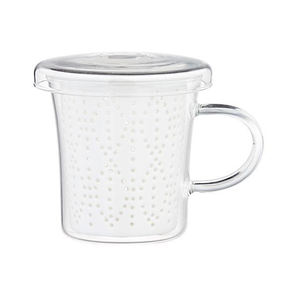 Weave Mug with Porcelain Infuser