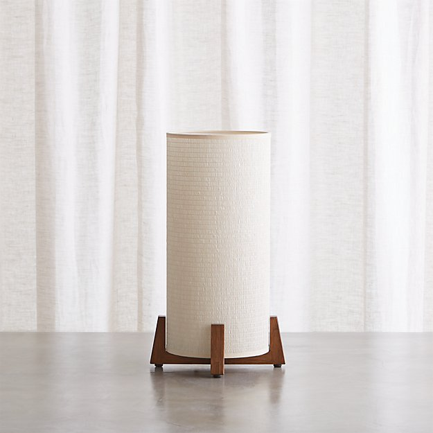 Weave Natural Table Lamp - Image 1 of 5