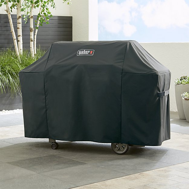weber genesis grill cover Weber Genesis Grill Cover + Reviews | Crate and Barrel weber genesis grill cover